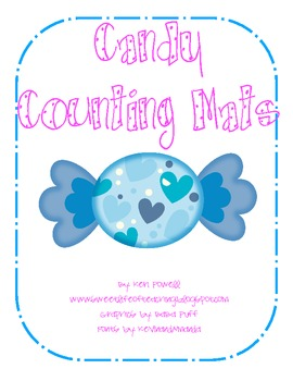 Candy Counting Mats 1-30