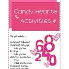 Candy Hearts Math Activities: Graphing, Fractions and Probability