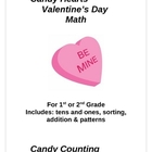 Candy Hearts Valentine's Day Math Packet