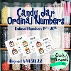 Candy Jar Ordinal Numbers