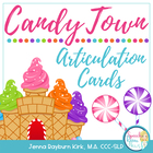 Candy Town Articulation Cards