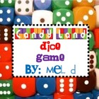 Candy Land Dice Game