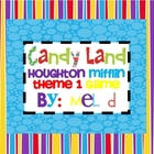 Candy Land Houghton Mifflin Theme 1-Grade 2