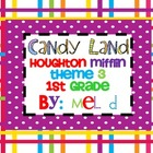 Candy Land Houghton Mifflin Theme 3-Grade 1 Game