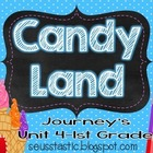 Candy Land Journey's Unit 4-1st Grade