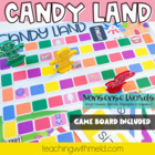 Candy Land Nonsense Word Game #1