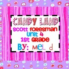 Candy Land Scott Foresman (Reading Street) Unit 4-1st Grade
