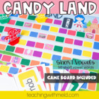 Candy Land Short Vowel Game