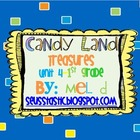 Candy Land Treasures-Unit 4-Grade 1