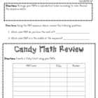 Candy Math - Median and Mode