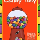Candy Tally Marks (great for 100th day)