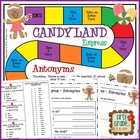 Candyland Express--Antonyms Game