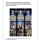 Canterbury Tales: Friar's Tale Activity Pack, Quiz, Summary