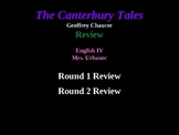 Canterbury Tales Jeopardy Review Game