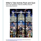 Canterbury Tales: Miller's Tale Activity Pack, Quiz, Summary