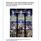 Canterbury Tales: Pardoner's Tale Activity Pack, Quiz, Summary