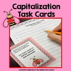 Capitalization Task Cards {Common Core Aligned}