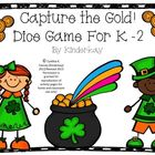 Capture the Gold Dice Game for K-2