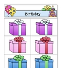 Card Matching- Happy Birthday