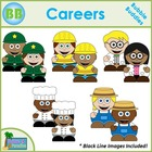 Career Clipart: Bubble Buddies for Commercial and Personal Use