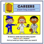 Career Paper Bag Puppets