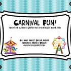 Carnival Fun!  Game and Literacy Center for AR Vowel Sound