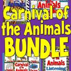 Carnival of the Animals Activities and Bulletin Board BUNDLE