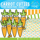 Carrot Cuties - Clipart for Teachers and Classrooms