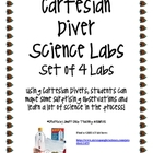 Cartesian Divers Science Labs (set of four) and Posters