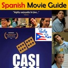 Casi Casi Spanish Movie Packet with Puerto Rico Informatio