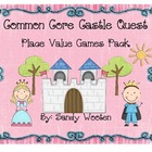 Castle Quest Differentiated Place Value Games Pack (1.NBT.