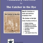Catcher in the Rye Vocabulary Activities