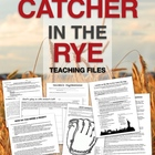 Catcher in the Rye Unit Files - PowerPoints, Projects, & H