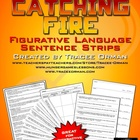 Catching Fire Free Figurative Language Sentence Strips