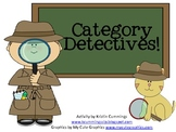 Category Detectives!