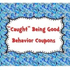Caught Being Good Behavior Coupons