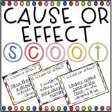 Cause & Effect SCOOT! (task cards/review game)