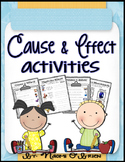 Cause and Effect Activities & Worksheets