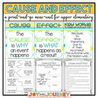 Cause and Effect Activity Packet - Common Core Aligned