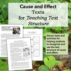Cause and Effect Activity and Texts for Teaching Text Structure