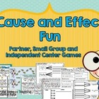 Cause and Effect Games and Worksheets FUN!!!!!