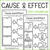FREE Cause and Effect Worksheet - Science History Civics