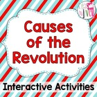 Causes of the Revolution: Interactive Notebook