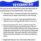 Celebrate Veterans Day Resource Kit