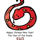 Celebrate the 2013 Chinese New Year of the Water Snake