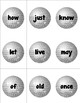 Celebrate the New Year With Sight Words - A Common Core Ce