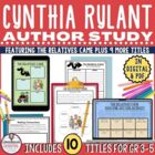 Celebrating the Work of Cynthia Rylant Author Study