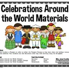 Celebrations/Holidays Around the World Materials