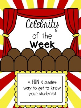 Celebrity of the Week! Hollywood Themed Poster Set and Tak