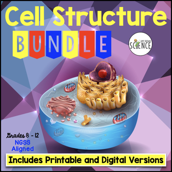 Cell (Cells) Structure and Function Complete Unit Plan Bundle